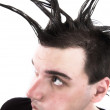 Royalty-Free Stock Photo: Bad hair day