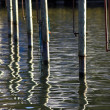 Water poles — Stock Photo