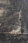 老破旧织物的硬布线裂缝 — 图库照片
