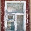 Old Rural Window — Stock Photo