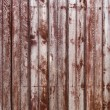 Old Wooden Shabby Planks in Row of Bordeaux color — Stock Photo #28778511
