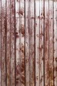 Old Wooden Shabby Planks in the Row of Bordeaux color — Stock Photo