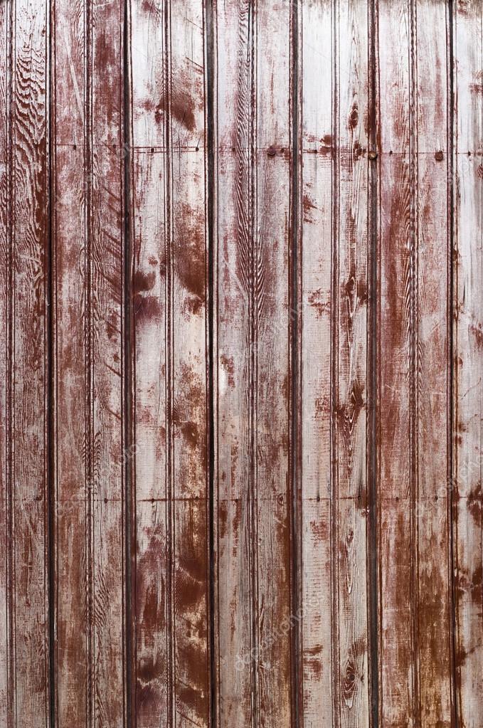 Vecchie tavole in legno shabby in fila di colore bordeaux for Vecchie tavole legno
