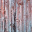 Old Wooden Planks in Row of red and blue color, background — Stock Photo #28783007