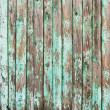 Old Shabby Wooden Planks with Cracked Paint, background — Stock Photo