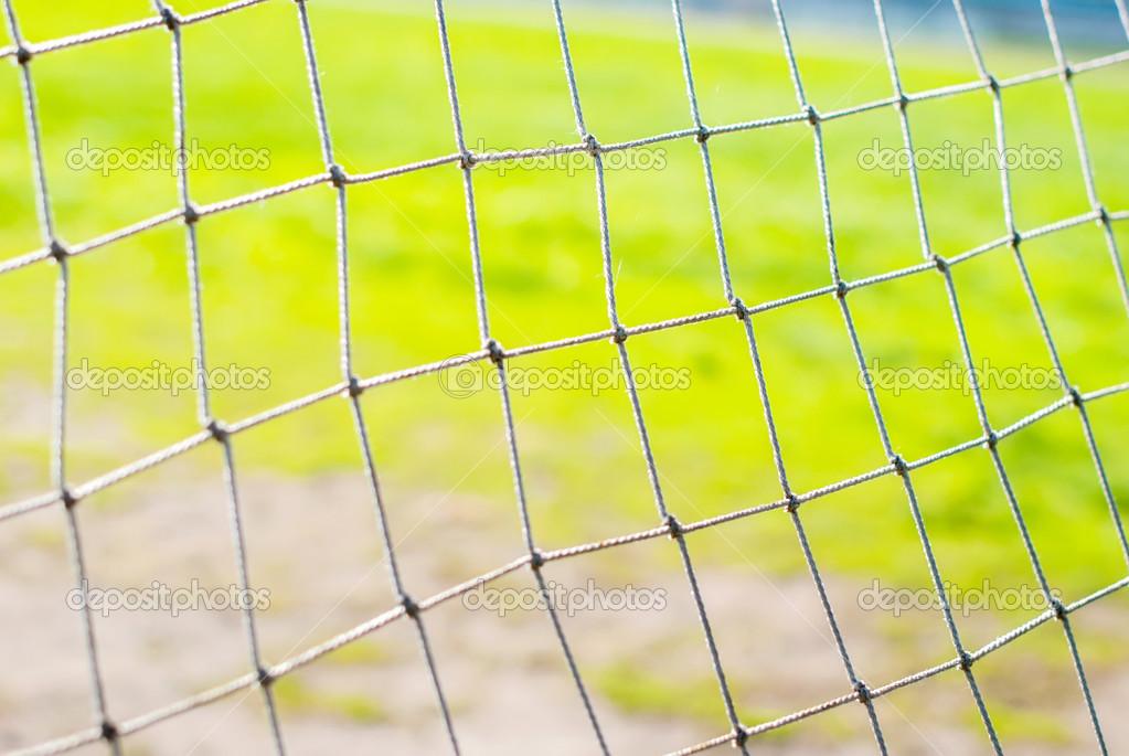 Как сделать сетку для футбольных ворот