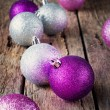Brilliant Christmas Balls — Stock Photo
