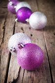 блестящие цветные шарики — Стоковое фото