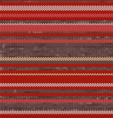 Striped Knit Seamless Pattern with red pink colors, illustration — Stock Photo