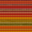 Striped Knit Seamless Pattern, warm colors, illustration — Stock Photo