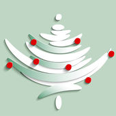 Stylize Symbol of Fir tree, illustration — Stock Photo