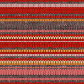 Striped Knit Seamless Pattern, illustration — Stock Photo