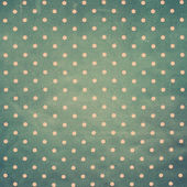 Fabric with Pink Polka Dots on Grey background — Stock Photo