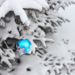 Christmas Ball Decoration - Stock Photo — Stock Photo