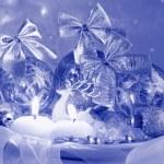 Vintage Christmas Card - Stock Photo — Stock Photo