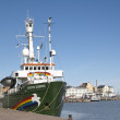 Greenpeace Arctic Sunrise in Helsinki — 图库照片
