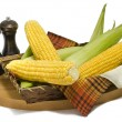 Stock Photo: Maize cobs