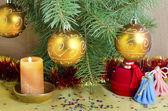 Natal e ano novo — Fotografia Stock