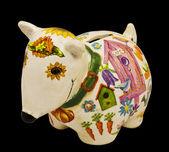 Toy - piggy bank — Stock Photo