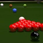 Постер, плакат: Colored balls for billiards