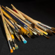 Artist brushes for painting — Stock Photo