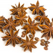 Star anise. dried seeds of plant Pimpinellanisum L. — Stock Photo #35211405