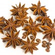 Star anise. dried seeds of the plant Pimpinella anisum L. — Stock Photo