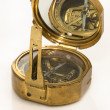 Stock Photo: Old mariner's compass of XIX century