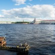 St. Petersburg. View on Vasilevsky Island — Stock Photo
