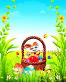 Mutlu Paskalya tavşanı — Stok fotoğraf