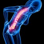 Female back pain — Stock Photo #22678045