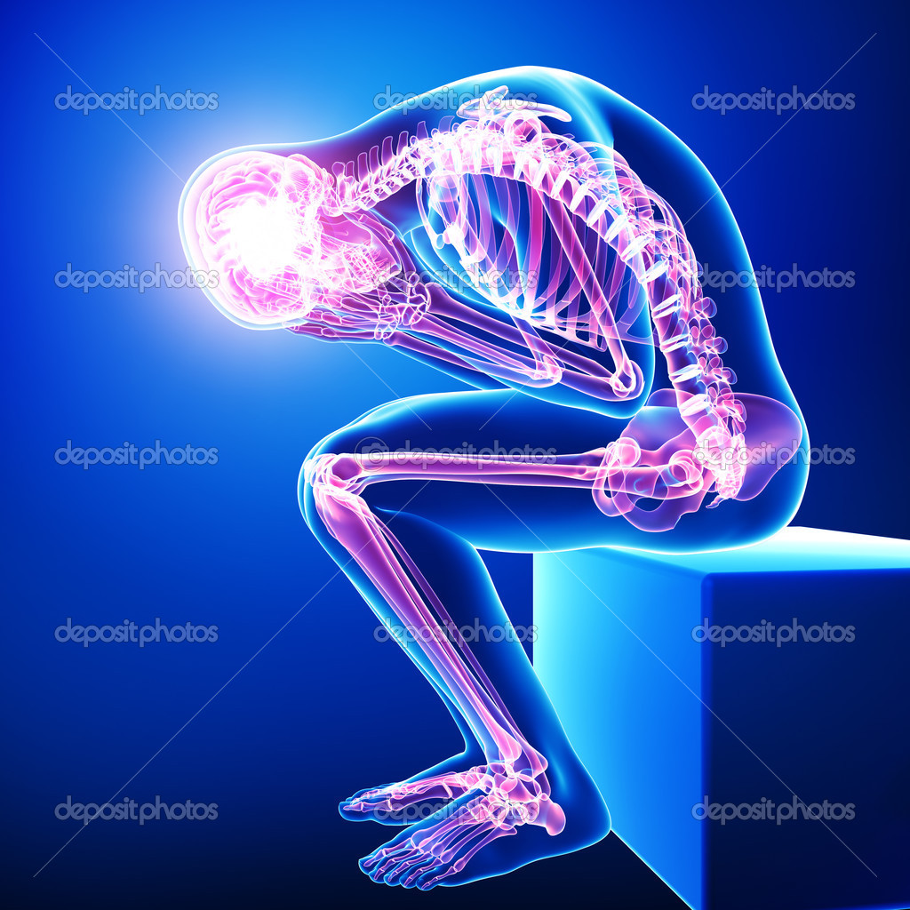 Full Body Pain  U2014 Stock Photo  U00a9 Pixologic  22672675