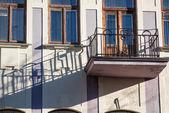 Stary balkon w mińsku — Zdjęcie stockowe
