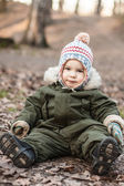 Boy in hat — Stockfoto