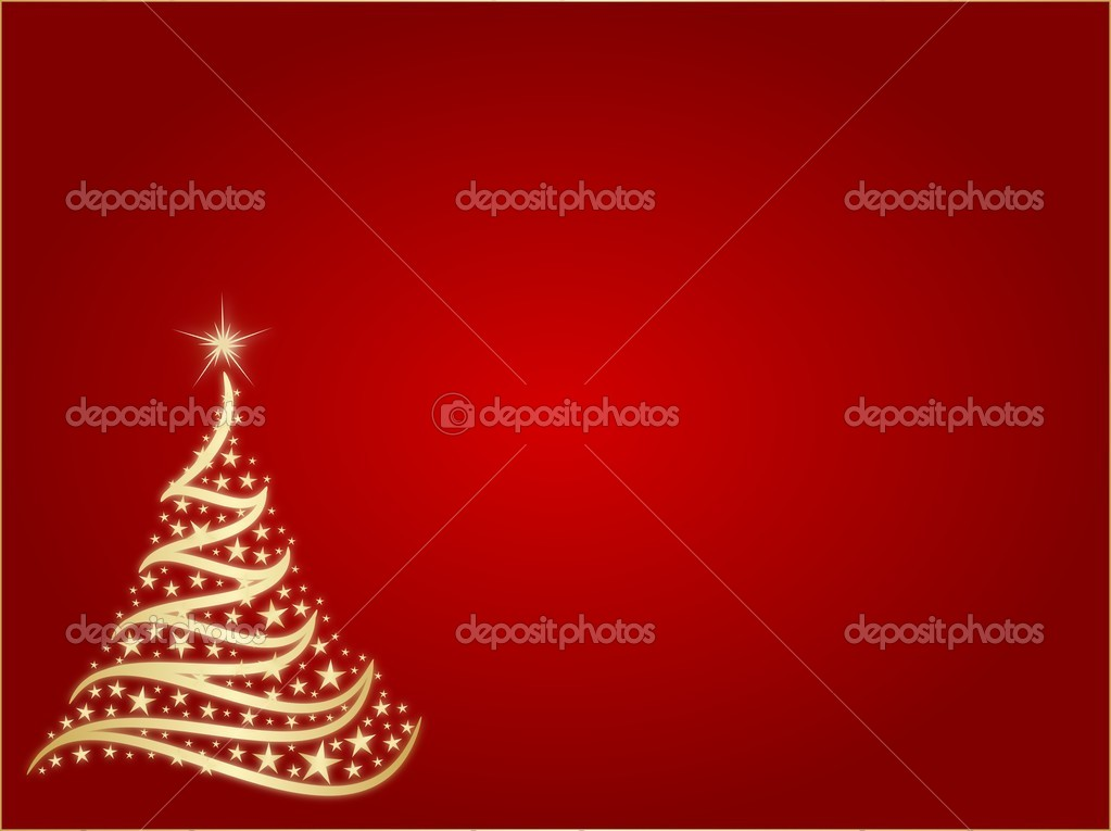 Abstrakter Weihnachtsbaum.  Stock Photo #13859545