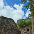 Monterano castle hdr — Stock Photo