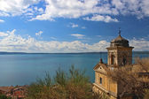 2 海の教会trevignano rock τοπίου — ストック写真