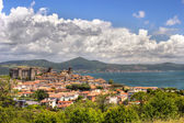 Bracciano Cloudscape — Stock Photo