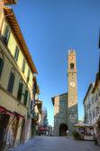 Montalcino plaats — Stockfoto