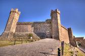 Castelo de montalcino — Foto Stock