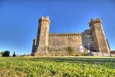 Montalcino hrad 2 — Stock fotografie