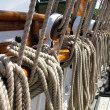 Old sailboat ropes — Stock Photo #32600869