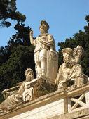 Dea di Roma fountain 2 — Stock Photo