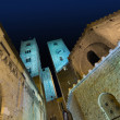 Albenga at night — Stock Photo