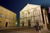 Catedral de Pienza — Foto de Stock