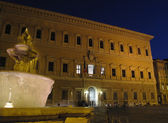 Piazza farnese night — Stock Photo