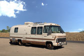 Old motorhome — Stock Photo