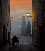 Calle s quirico — Foto de Stock