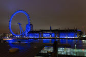 London Eye at the night 2 — Stock Photo
