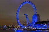 London Eye at the night 1 — Stock Photo